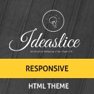 Ideaslice - Single page Responsive portfolio  template