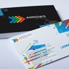 Creative and unique business card - Arrows