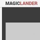 MagicLander Landing Page
