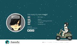 Icemonster -  CV/Resume Responsive Template