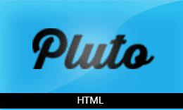 Pluto – Premium Responsive HTML Theme