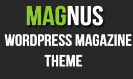 Magnus Responsive WordPress Theme