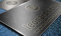 Creative Dark Business Card