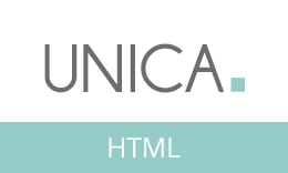 Unica - Minimal Responsive HTML5 Template