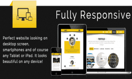 Kunti - One Page Responsive HTML