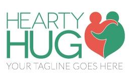 Hearty Hug Logo Template