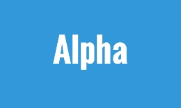 Alpha - One Page Portfolio / Business / Coming Soon