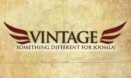 Vintage Joomla Template
