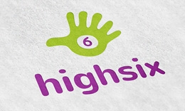High Six Logo