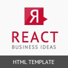 React – Responsive HTML5 Template